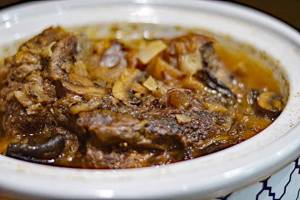 Finished Slow Cooker Beef Pot Roast Recipe