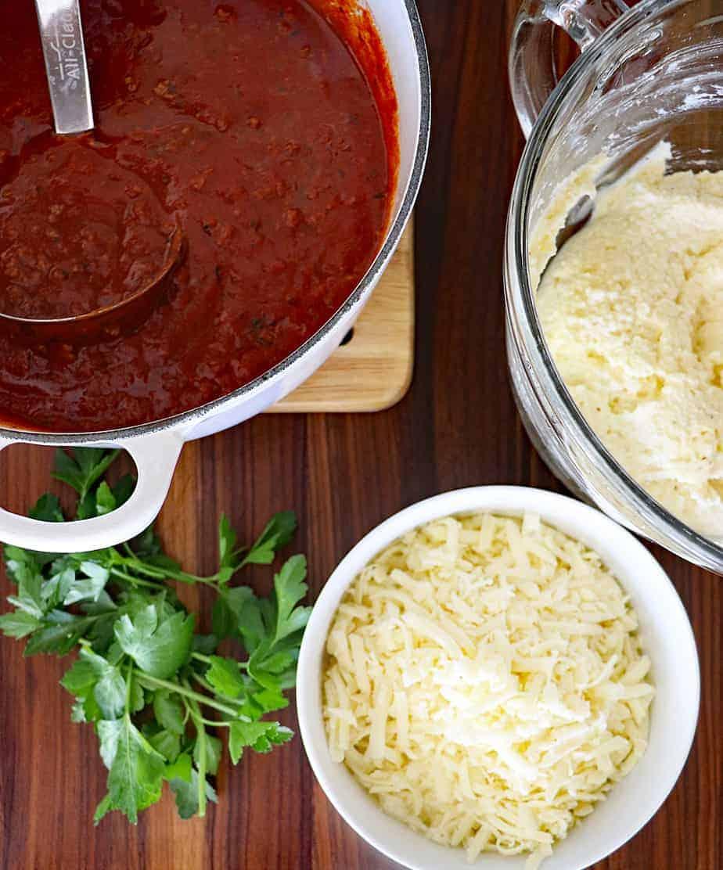 Ingredients for Classic Lasagna Recipe
