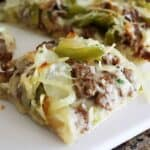 Easy Philly Cheesesteak Pizza Hero Image